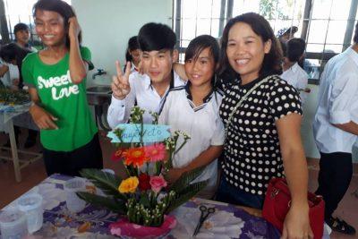 Hội thi Cắm hoa Kỉ niệm 34 năm Ngày nhà giáo Việt Nam (20/11/1982 – 20/11/2016)